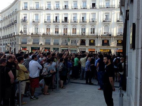 Apertura Apple Store de la Puerta del Sol