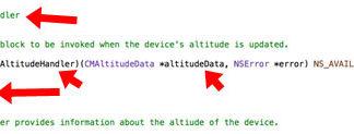 Evidencias de un barómetro encontradas en iOS 8