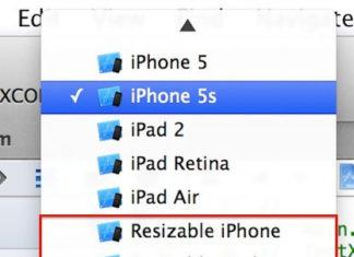 Resizable iPhone o iPad como nuevas opciones