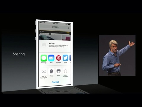 Compartir en iOS 8