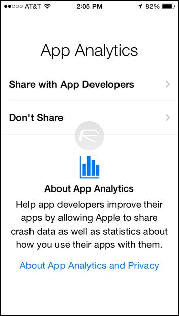 Estadísticas de Apps