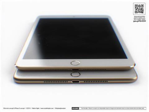 Concepto de diseño de iPad mini Retina de segunda generación