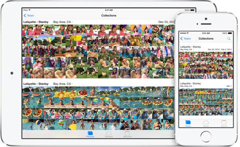 Fotos en iOS 8