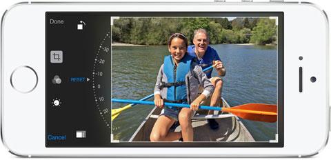 Composición de Fotos en la App de Fotos de iOS 8