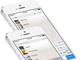 App de Fotos en iOS 8
