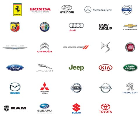 Marcas de CarPlay