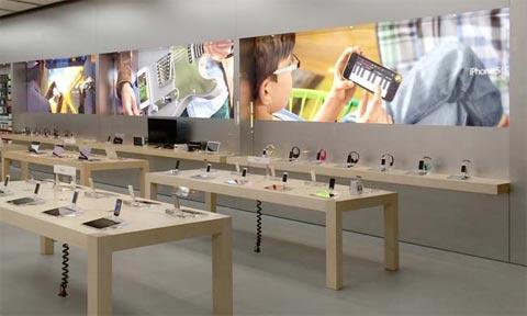 Nuevas fotos en las Apple Store