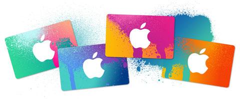 Tarjetas prepago de Apple
