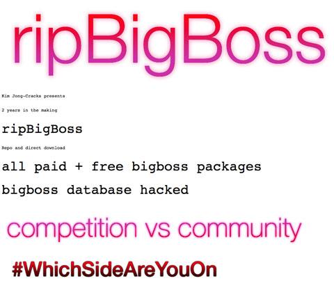 RIP BigBoss