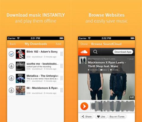 Downloader for Soundcloud