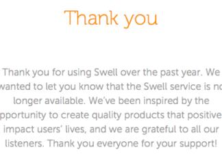 Mensaje de Swell