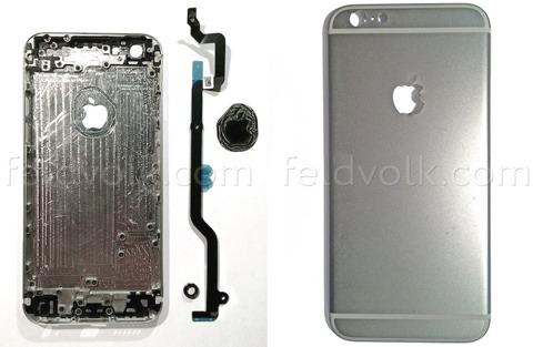 Supuesta carcasa del iPhone 6