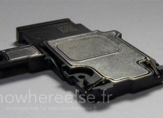 Supuesto altavoz del iPhone 6