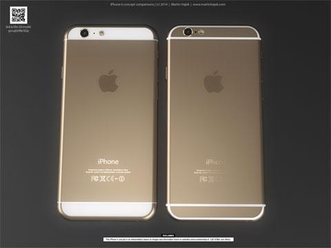 Concepto de diseño antena iPhone 6