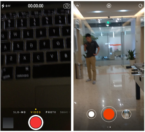 MIUI 6 e iOS 7