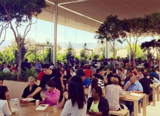 Caffe Mac en los cuarteles generales de Apple