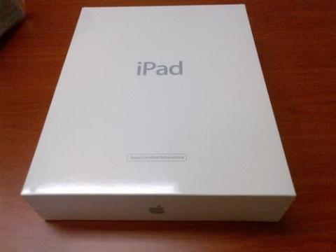 iPad restaurado