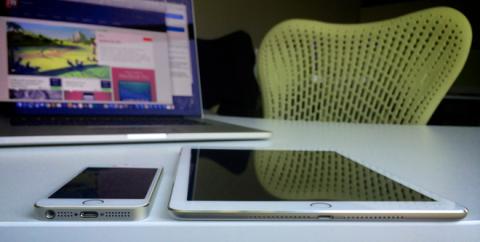 Foto falsa de un iPad Air