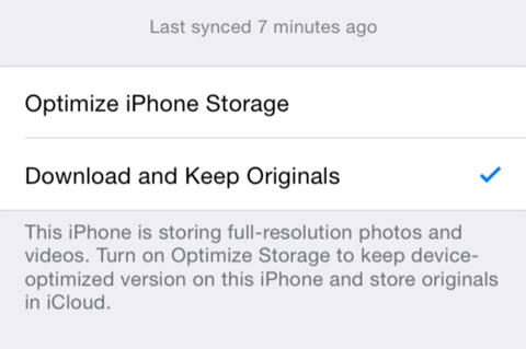 Resoluciones iCloud Photo Drive