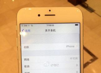 Supuesto iPhone 6 con iOS 8