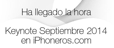 Ha llegado la hora de la Keynote de Apple
