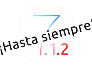 Hasta siempre iOS 7.1.2