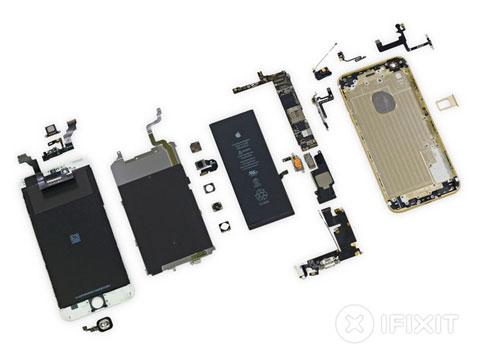 Todas las piezas del iPhone 6 Plus