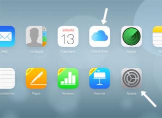 iCloud Drive y Ajustes en iCloud