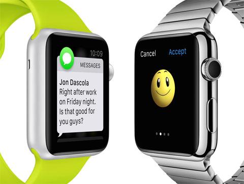 Apps del Apple Watch