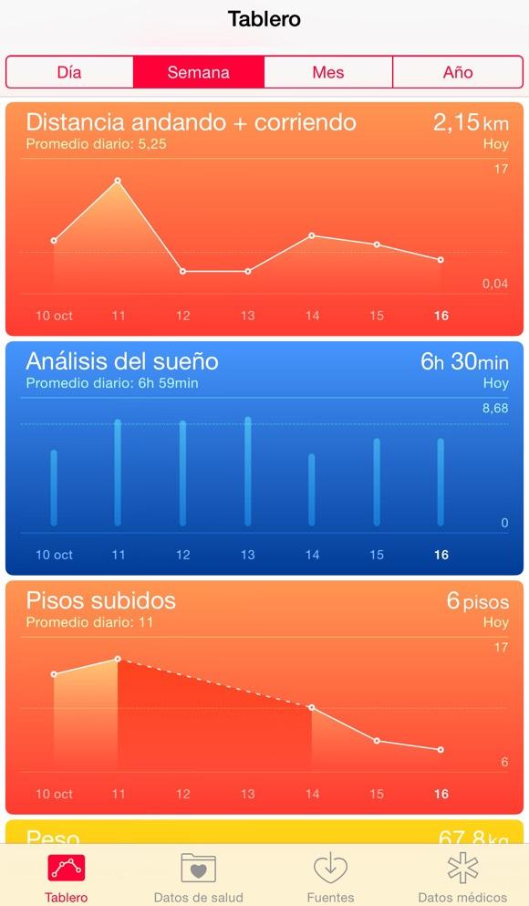Sleep Cycle en la App de Salud
