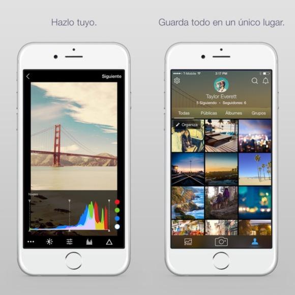 Flickr en el iPhone