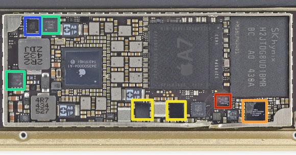 Chip NFC del iPad mini 3