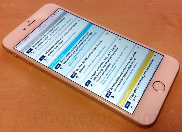 iPhoneros en el 6 Plus