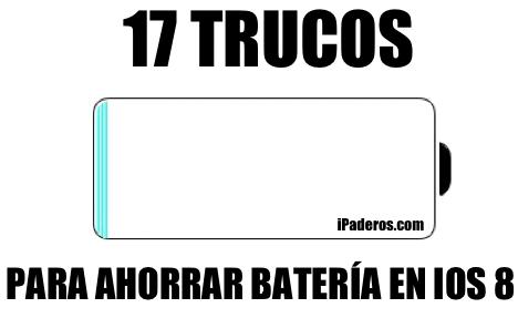17 trucos para ahorrar batería