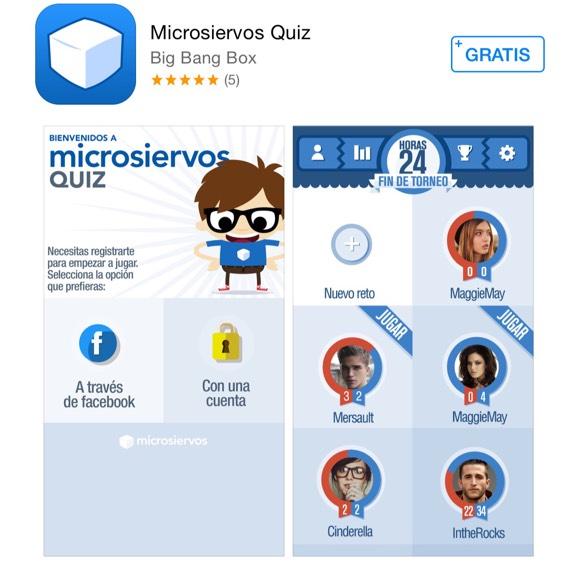 Microsiervos Quiz en la App Store