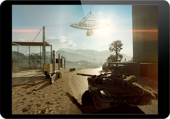 Battlefield 4 en el iPad