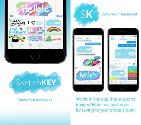 SketchKey Keyboard