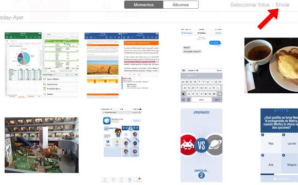 Versión beta de iCloud con el envío de imágenes