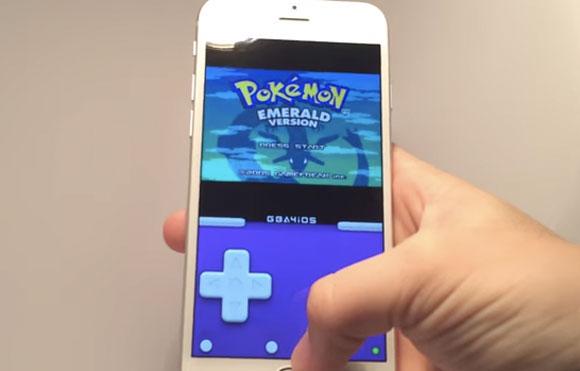 Pokemon en GBA4iOS