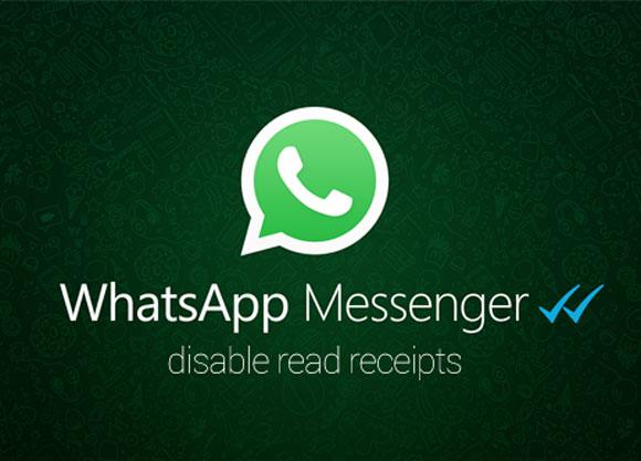 Quitar el doble check de Whatsapp