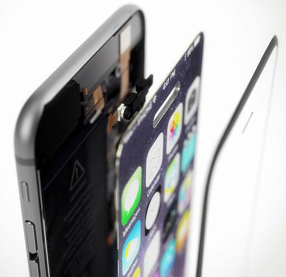 Concepto de diseño de iPhone 6 que es todo pantalla