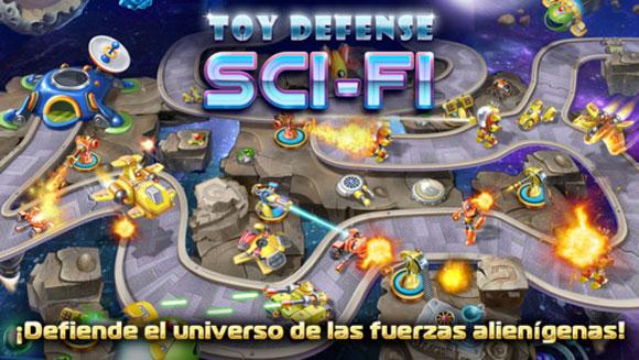 Toy Defense 4: Sci-Fi