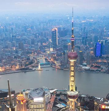 Shanghai por la noche