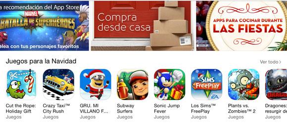 App Store en Diciembre del 2014