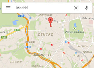 Google Maps en iOS