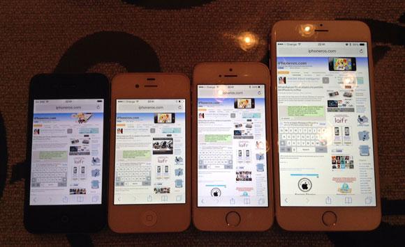 iPhoneros abierta en varios modelos de iPhone