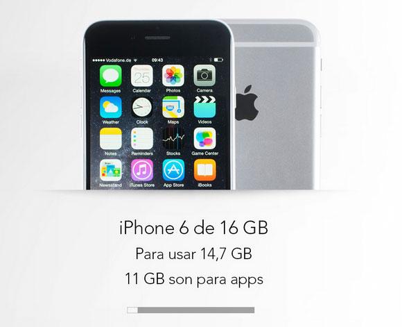iPhone 6 de la OCU
