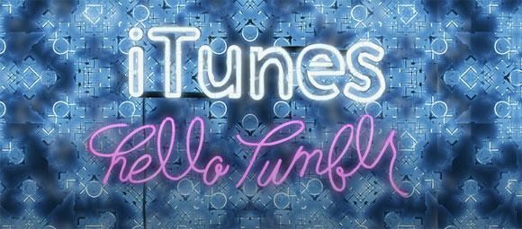 iTunes en Tumblr