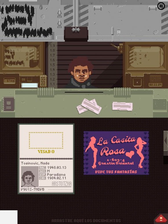 Papers, please, para iPad