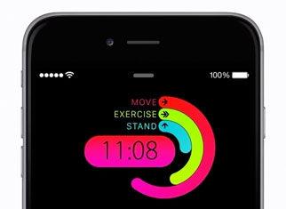 Concepto de diseño de reloj en iOS 9